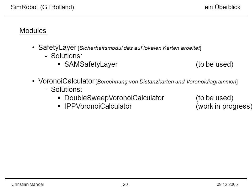 SafetyLayer [Sicherheitsmodul das auf lokalen Karten arbeitet]